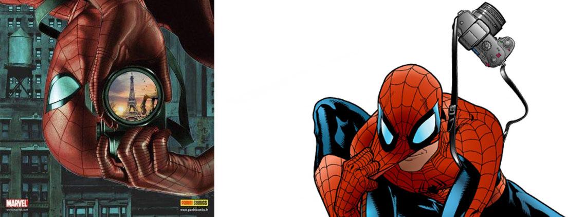 Fotógrafos-de-cómic, fotografos, comic, peter-parker, hombre-araña, spiderman, marvel,