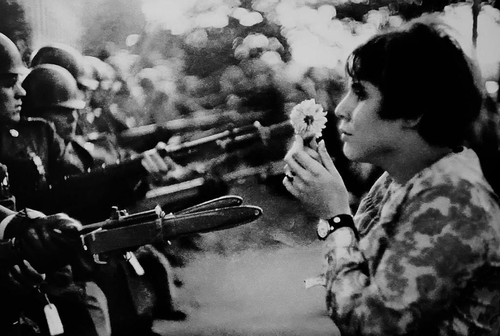 La fotografía de la paz y el amor