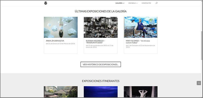 La escuela fotográfica Spectrum-Sotos estrena nueva web, Spectrum Sotos, Escuela, Galería, Escuela de fotografía en zaragoza