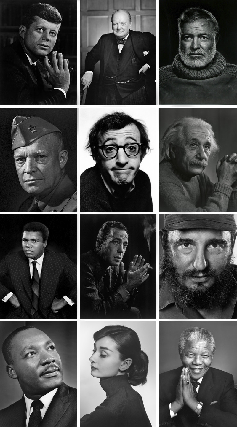 Yousuf Karsh, retratista icono fotográfico