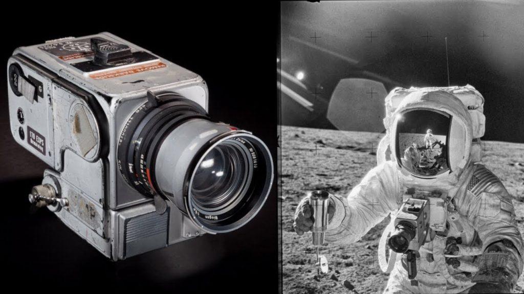 Objetivo fotográfico: La Luna, NASA, fotografia en la luna, Hasselblad
