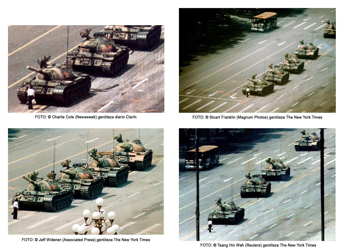 Muere uno de los fotógrafos de una foto icónica, Tiananmen, China, press