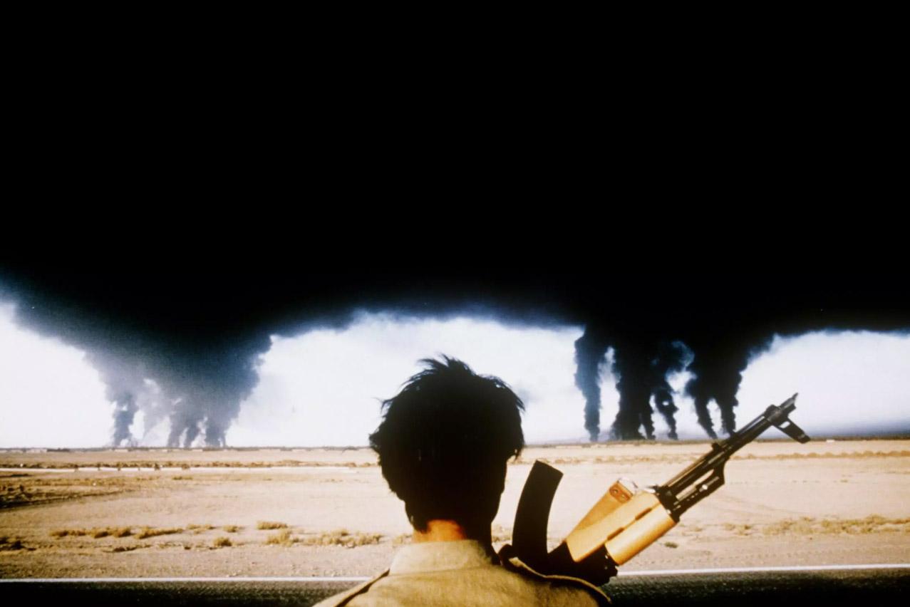 Henri Bureau, fotógrafo de un icono, Henri Bureau, Irak, iran, Golfo Persico